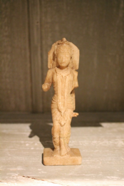 19th Century Marble carving of Laxshmi Goddess of Spiritual Material and Emotional Wealth